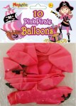 Pink Pirate Balloons