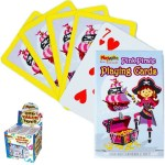 Pink Pirate Mini Playing Cards