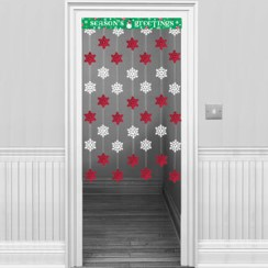 Snowflake Door Curtain