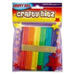 Coloured Lollipop Sticks
