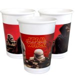 Star Wars Party Cups with images from The Force Awakens movie