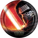 Star Wars Party Plates with The Force Awakens Kylo Ren