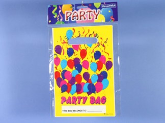 Balloons Party Bags (6pc)