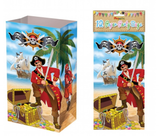 Pirate Paper Party Bags