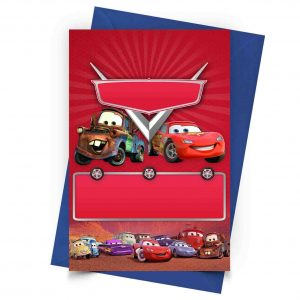 5 printable cars invitation free