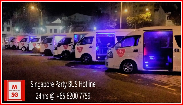 Party bus Singapore Hotline