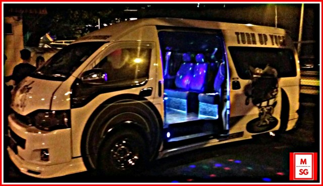 party bus for club hop