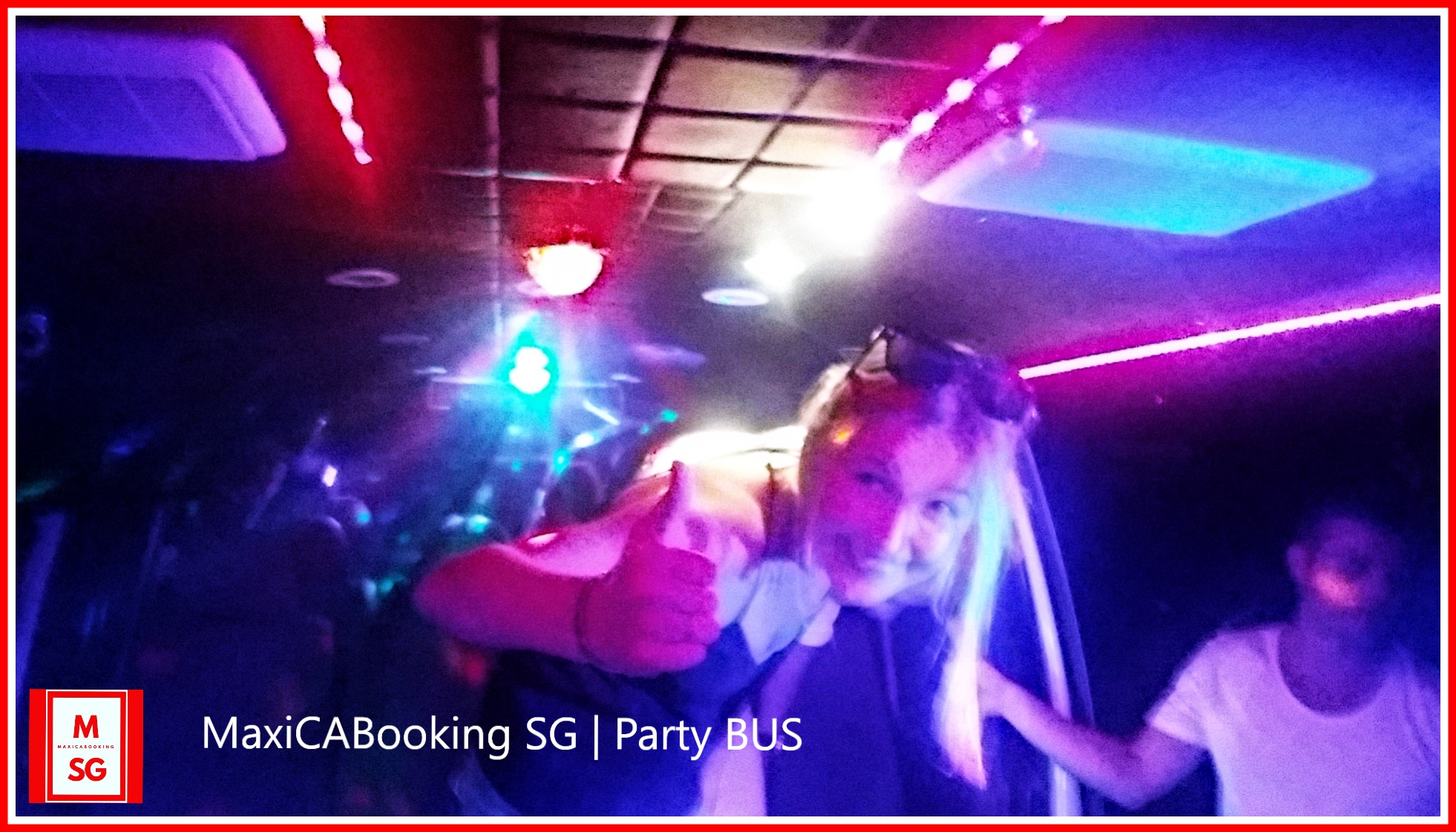Book party bus for club hop