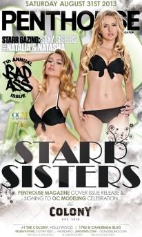 """""""Natasha and Natalia Starr OC Modeling and Penthouse Magazine Celebration"""""""