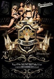 """""""AVnightclub Wednesday November 27 flyer image"""""""