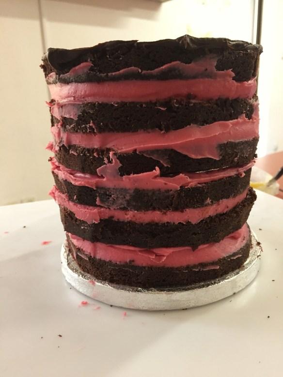 Τούρτα με θέμα 'Παρίσι' Σαμάνθα κας κας κας-κας Cakes By Samantha Double Barrel Cake airbrushing αερογράφο τουρτα με γευση φραουλα