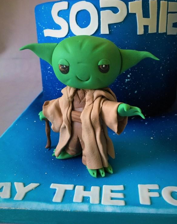 Princess Leia Yoda C3P0 Ewok Darth Vadar Han Solo Chewbacca fondant tutorial chibi Star wars fondant gumpaste modelling paste modeling paste Saracino Sugar Shapers