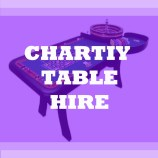charity table hire
