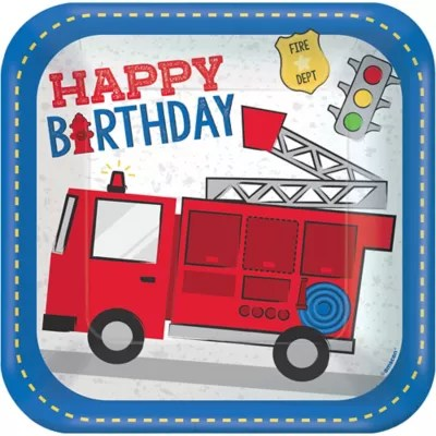 Firefighter Police Birthday Party Decorations Supplies Party City