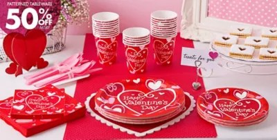 Be Mine Valentines Day Party Supplies Party City