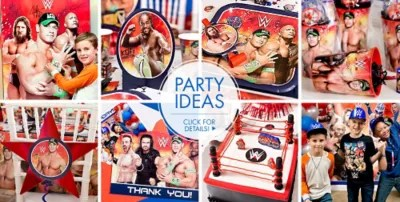 WWE Party Supplies WWE Birthday Party City