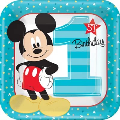 Mickey Mouse Birthday Party Supplies Decorations Party City