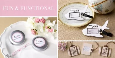 Shop For Practical Wedding Favors That Make Useful Gifts