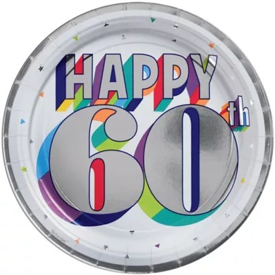60th Birthday Party Supplies Decorations Ideas Party City