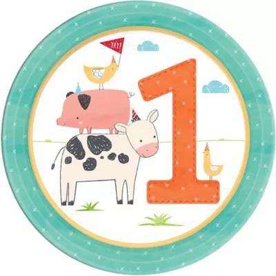 farmhouse fun 1st birthday party