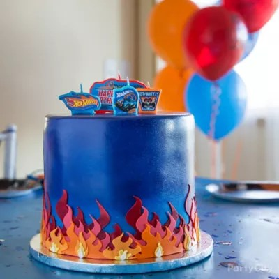 Hot Wheels Cake How To Party City