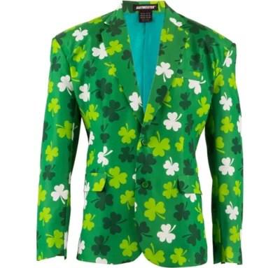 St Patricks Day Suit Jacket Party City