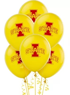 Iowa State Cyclones Balloons 10ct Party City