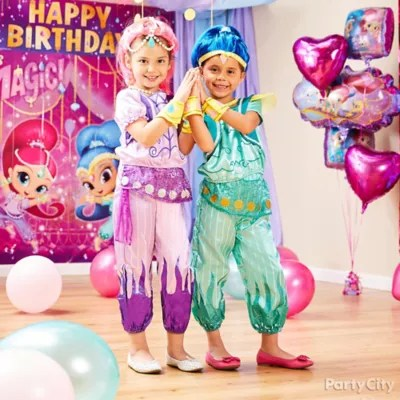 Shimmer And Shine Party Ideas Party City