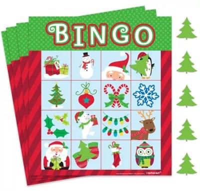 Christmas Bingo Party City