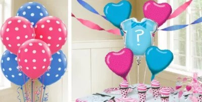 Reveal City Gender Party Balloons