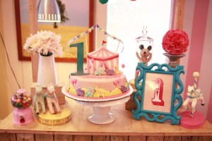 Sophie's Pink Carnival Themed Party – 1st Birthday