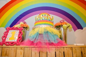 Annika's Rainbow Themed Party – 1st Birthday