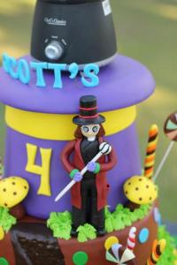 Scott's Willy Wonka Themed Party – 4th Birthday