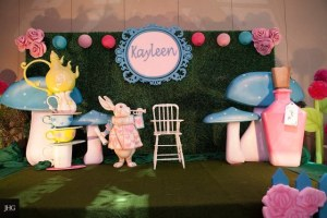 Kayleen's Alice in Wonderland Themed Party – 1st Birthday