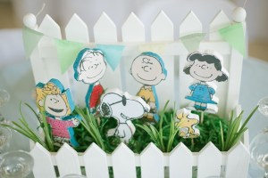 Gavin's Charlie Brown and the Gang Themed Party – 1st Birthday