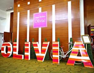 Olivia Natalia's Kate Spade Themed Party – 1st Birthday