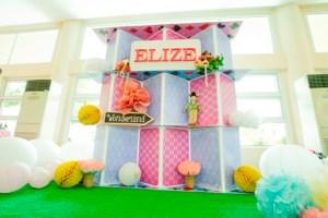 "Elize's ""Alice in Wonderland"" Tea Party – 1st Birthday"