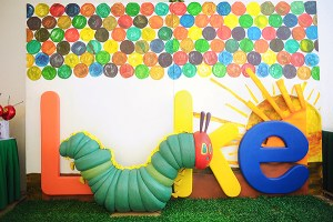 "Luke's ""The Very Hungry Caterpillar"" Themed Party – 1st Birthday"