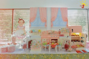 Yuna's Retro Kitchen Inspired Party – 1st Birthday