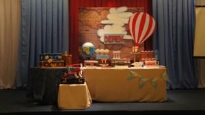 Derek's Little Traveler Themed Party – Baptismal Celebration