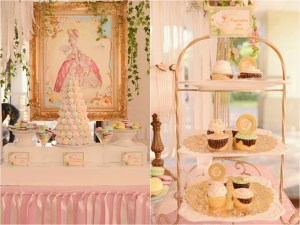 Francesca's Marie Antoinette Themed Party – 1st Birthday