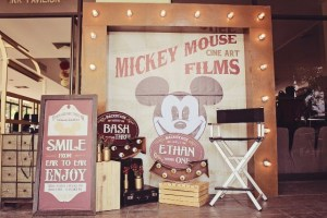 Bash and Ethan's Vintage Mickey Mouse Theater Inspired Party – 1st Birthday and 3rd Birthday