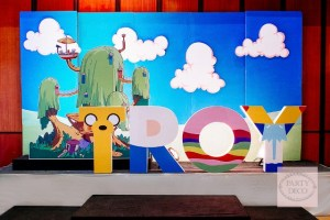 Troy's Adventure Time Themed Party – 1st Birthday