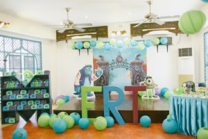 Marius' Monster University Themed Party – 1st Birthday