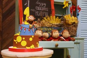 Gavin's Curious George Themed Party – 1st Birthday