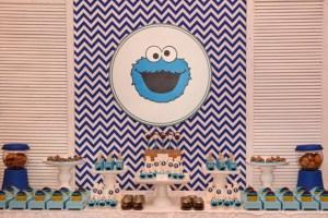 Kiemon's Milk & Cookie Monster Pajama Party – 1st Birthday