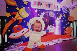 Caleb's Outer Space Themed Party – 1st Birthday