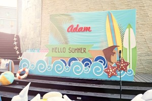 Adam's Surf's Up Summer Party – 1st Birthday