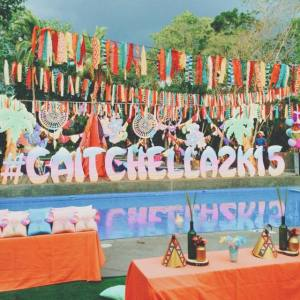 Caitlin's Coachella Themed Party – 1st Birthday
