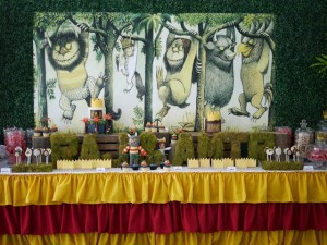 """Raj and Amir's """"Where the Wild Things Are"""" Themed Party"""